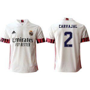 Real Madrid Daniel Carvajal White 20-21 Jersey